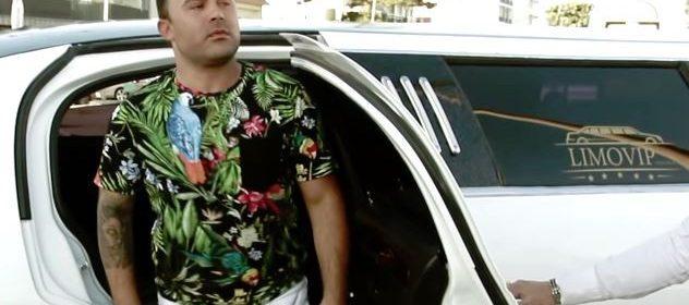 Limousine usada no videoclip do Ricardo Mateus