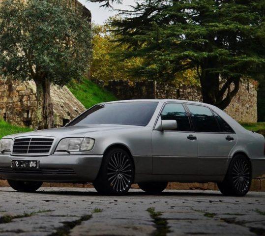 Mercedes S Blindado